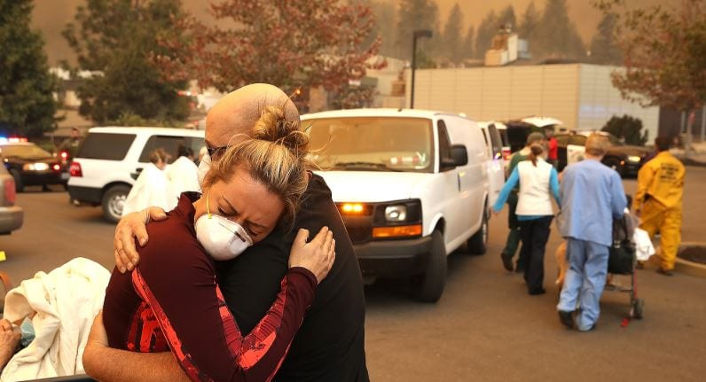 God's Grace and Human Heroism Prevail as Camp Fire Sweeps Across Paradise, CA