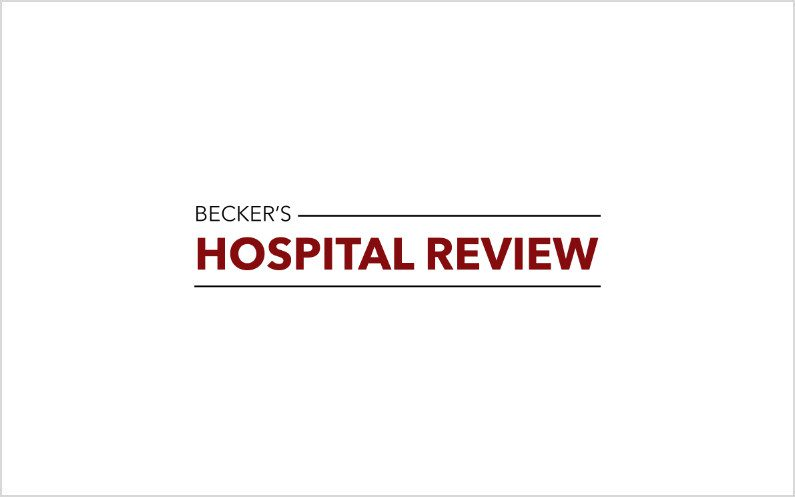 Several FaithSearch Clients Named Great Hospitals in America by Becker's Hospital Review