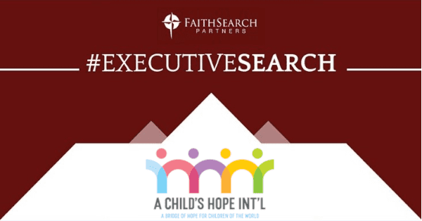 International Children's Ministry Seeks Executive Director