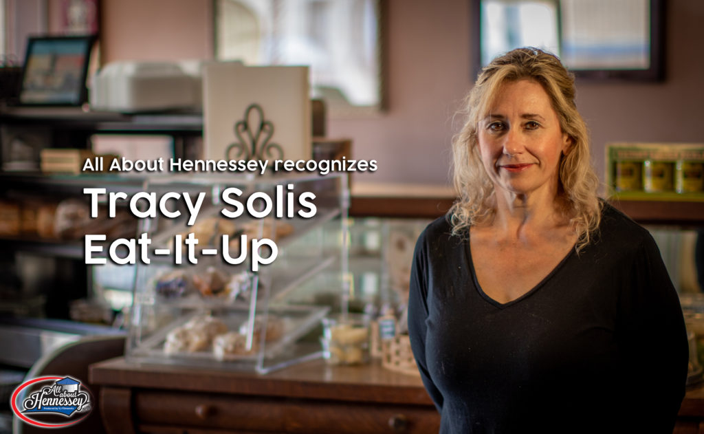 Tracy Solis of Eat it Up in Hennessey OK