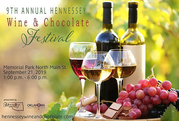 2019 Hennessey Wine and chocolate festival September 21 1-6pm