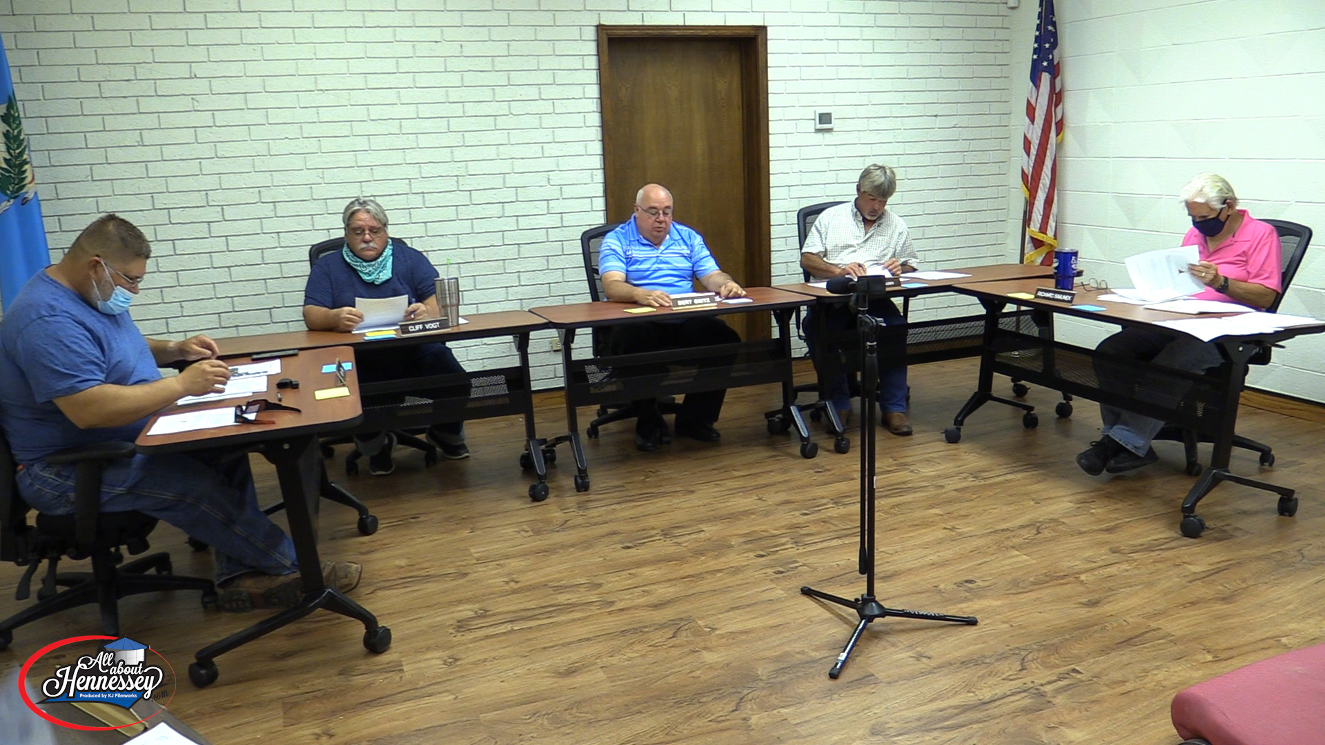HENNESSEY BOARD OF TRUSTEES REGULAR MEETING AUGUST 13TH, 2020
