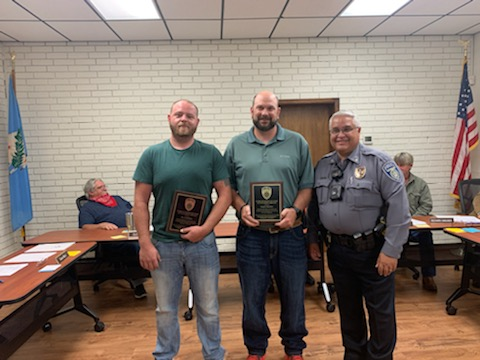 APPRECIATION AWARDS TO RESERVE OFFICERS
