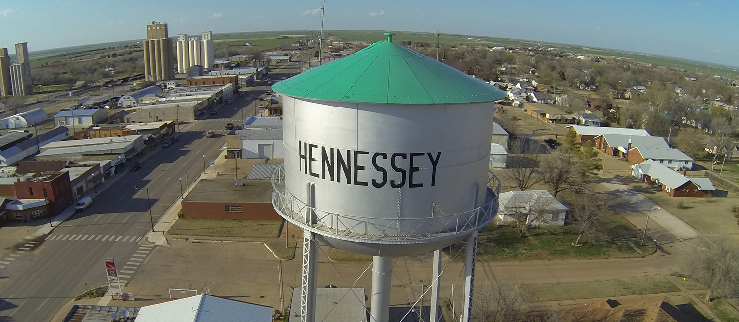 HENNESSEY GETS NITRATE WARNING FOR WATER, BUT FIXES PROBLEM QUICKLY.