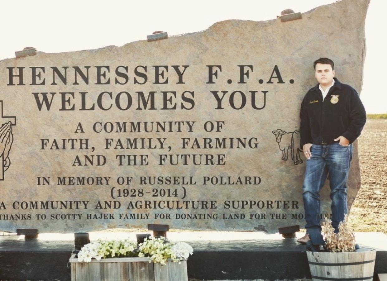 HENNESSEY FFA MEMBER IS A NATIONAL FINALIST
