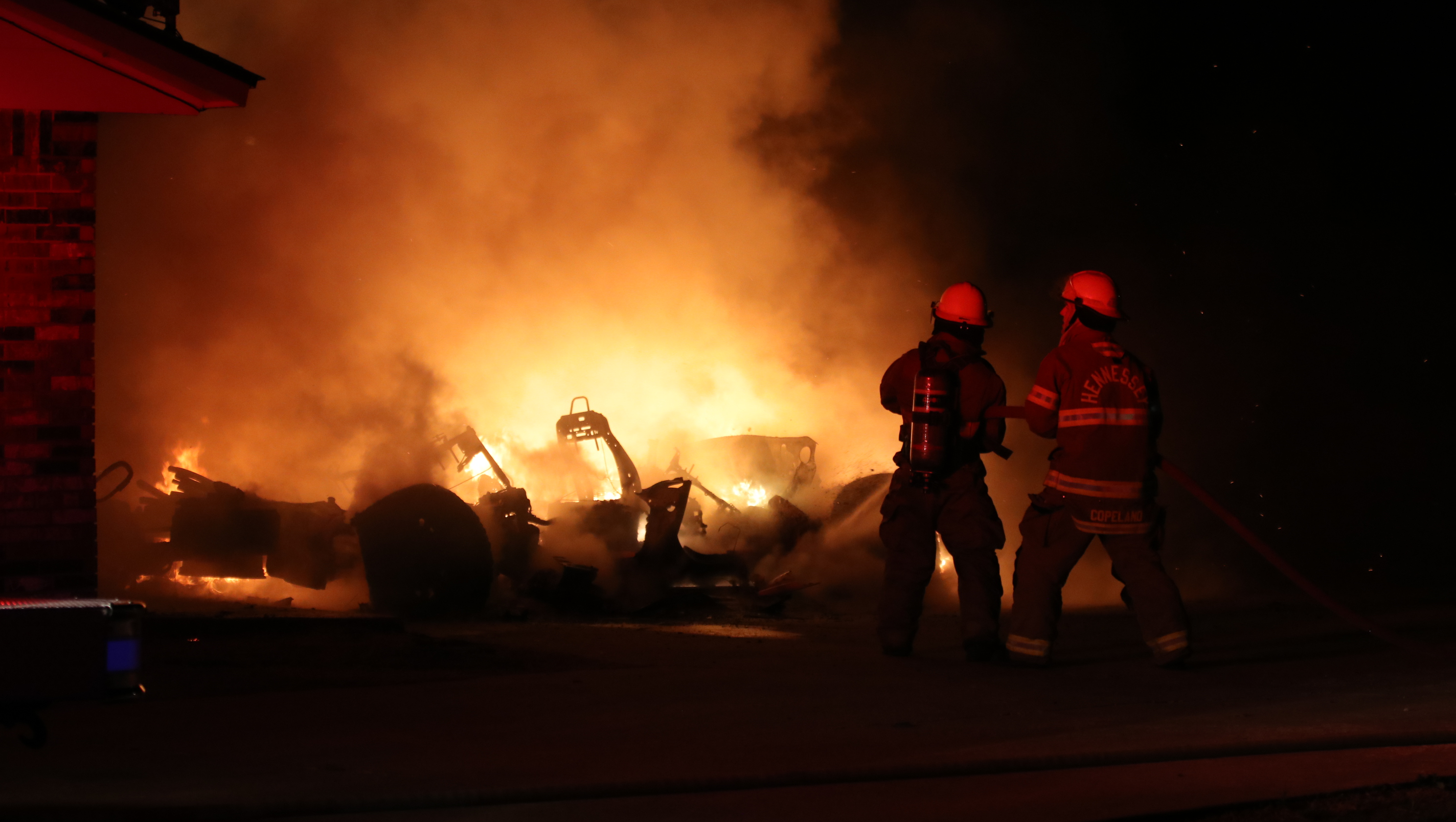 OVERNIGHT HOUSE FIRE DISPLACES FAMILY