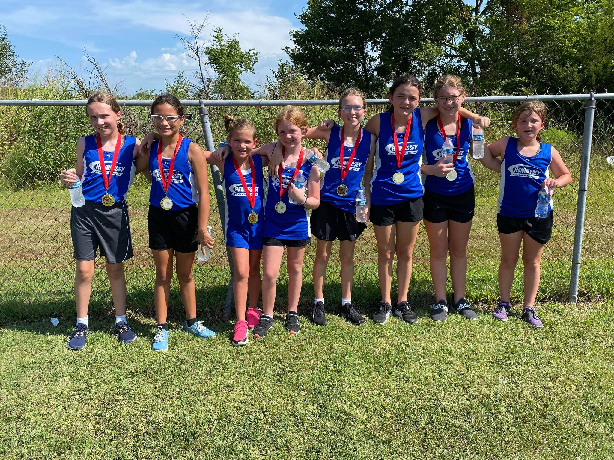 CONGRATULATIONS 6TH AND UNDER CROSS COUNTRY